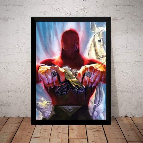 Quadro Fantasma Phantom Marvel Hq Arte De Alex Ross