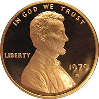 1979 S Type 1 Gem Proof Lincoln Memorial Cent US Coin Penny