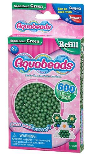 Aquabeads - La Recharge Perles Vert - 32548 - Recharge Couleur - Loisirs Créatifs