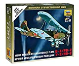 Zvezda 1/144 Noche Bombardero / Reconocimiento avión U-2 / PO-2 # 6150
