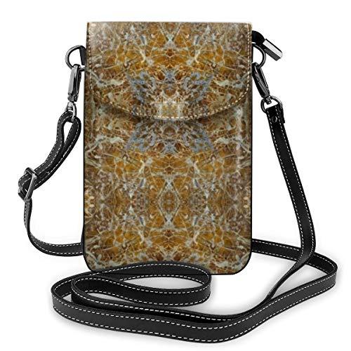 Goxegag Cartera multifuncional de piel para teléfono móvil, bolso de hombro pequeño, bolso de viaje con correa ajustable para mujer - Barcelona