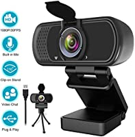 ZIQIAN 1080P Webcam,Live Streaming Discount Applied in Price