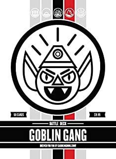 Goblin Gang Battle Deck. Magic The Gathering Preconstructed Black Red Deck. 60 Cards.