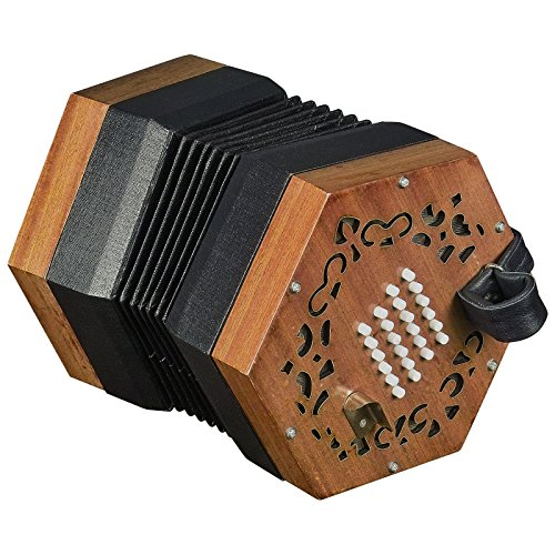 Trinity College AP-2248 English-Style Concertina,Light Brown