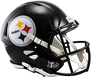 Riddell Pittsburgh Steelers Officially Licensed Speed Full Size Replica Football Helmet