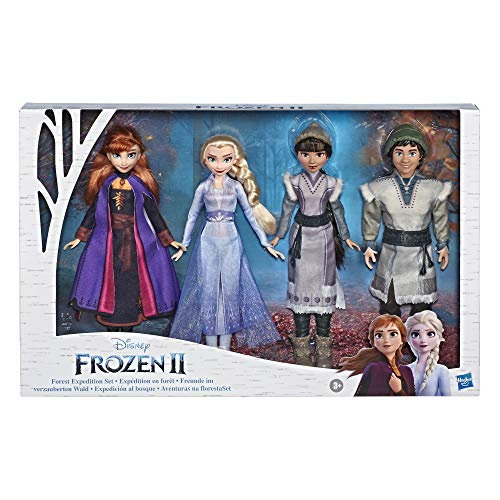 Disney Frozen 2 Forest Expedition Set Elsa, Anna, Ryder y Honeymaren - Walmart Exclusive