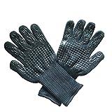 MERIGLARE Par de guantes para parrilla de barbacoa, protector de...