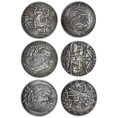 Garneck - Sammlermünzen in Silber Schwarz1, Größe 4x4cm