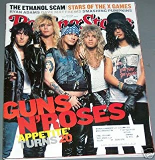 Rolling Stone Magazine Back Issue # 1032 Guns N' Roses Cover August 2007