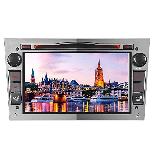 7 Zoll Doppel 2 Din Autoradio Navi DVD GPS Bluetooth FM Radio RDS für OPEL Astra Antara Corsa Vectra Zafira Vivaro Meriva W4W-OVG