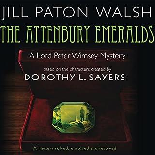 The Attenbury Emeralds audiobook cover art