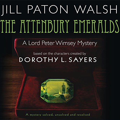 The Attenbury Emeralds audiobook cover art