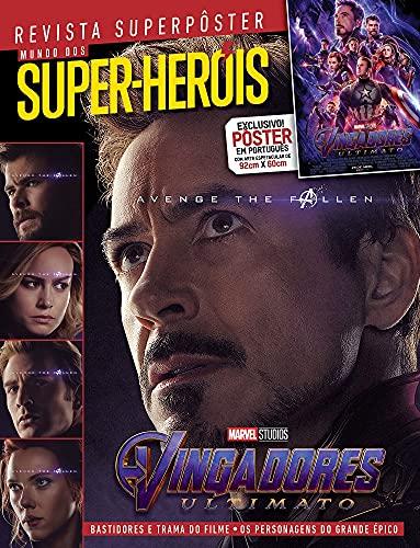 Superpôster Mundo dos Super-Heróis - Vingadores Ultimato: Revista Superpôster
