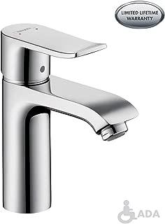 hansgrohe Metris  Modern 1-Handle  7-inch Tall Bathroom Sink Faucet in Chrome, 31080001