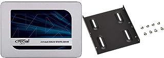 【セット買い】Crucial SSD 250GB MX500 内蔵2.5インチ 7mm (9.5mmアダプター付) 5年保証 【PlayStation4 動作確認済】 正規代理店保証品 CT250MX500SSD1/JP & オウルテック 2....
