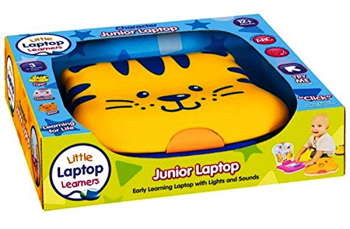 Little Laptop Learners Animal Character Junior Laptop Introduces ABC, 123 and Shapes 12 Months+ (Bear)