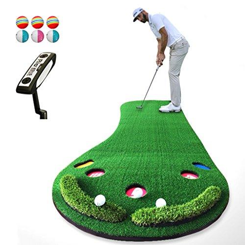 JHGEF Tappetino da Golf Tappetino da Golf Tappetino da Palestra Tappetino Regolabile Pendolino da Ufficio da casa Portatile 300 X 90 cm