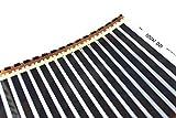 Fußbodenheizung Folie Folie Matte 500 mm breit Infrarot Heizplatte alle Arten von Böden 70 W/m Boot Wohnwagen Wohnmobil Elektroheizung