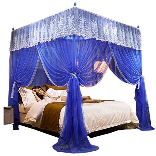 YANGM Muggennet, prinses elegant bed gordijn luifel Netting Bed luifel voorkomen insecten zorgen luchtstroom Pop up tent gordijnen, universele vierkante muggennet bed