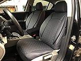 seatcovers by k-maniac Matiz para Chevrolet Kalos Universal Gris Fundas Set de Asientos Delanteros Auto Accesorios Interior V1406034