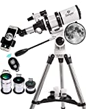 Gskyer Telescope, 80mm AZ Space Astronomical Refractor Telescope,...
