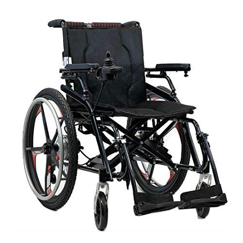 ポルタス・ハイブリッド 走行20km 電動車椅子 高耐久ブラシレスモーター搭載 リチウムイオン電池 マグネシウム合金フレーム 車いす 車イス 電動車いす 折りたたみ車椅子 折り畳み 軽量 軽い コンパクト 小型 カート 充電 バッテリー 介護 介助用 自走