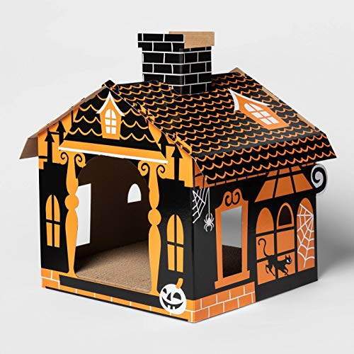 Hyde & EEK! Boutique Basic Haunted House Cat Scratcher