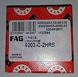 5 pcs! FAG 6203-C-2HRS las ranuras de los rodamientos de bolas