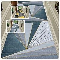 CnCnCn カスタムサイズ エントランス 玄関マット 3D 幾何学模様 カーペット ランナー エリアラグ (Color : B, Size : 80x900cm)