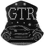 Alive Inc GTR Christmas Knit Face Cover Bandanas für Staub, Outdoor, Festivals, Sport