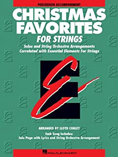 Essential Elements Christmas Favorites for Strings: Percussion Accompaniment