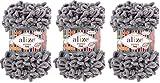 Alize Puffy - Ovillo de lana para manta de bebé (300 g, 100% micropoliéster,...