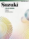 VOL 1. ESCUELA DEL VIOLONCELLO VOL.1 SUZUKI SUMMY BIRCHARD: Cello Part (Suzuki Cello School)