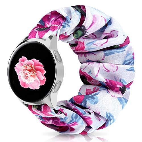 Zoholl - Correa elástica para Samsung Galaxy Watch 46 mm Galaxy 46 mm Gear S3 Frontier Classic Fossil Gen 5 / Hombres / Mujeres Gen 4