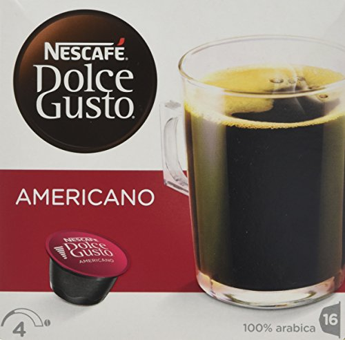 Nescafé Dolce Gusto Caffè Americano, koffie, koffiecapsules, 3-pack, 3 x 16 capsules