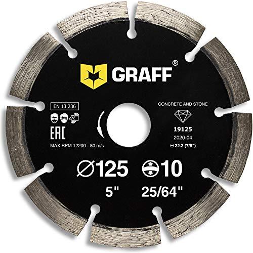 Graff Diamant-Trennscheibe 125 mm für...