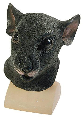 Bristol Novelty BM365 Ratte Maske, schwarz, Einheitsgröße