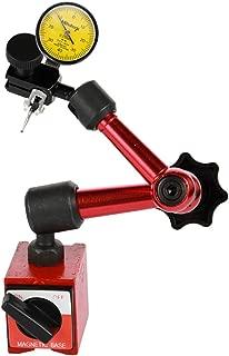 Dial Indicator, KKmoon Shockproof Waterproof Leverage Dial Indicator and Mini Flexible Magnetic Base Holder Bracket Tool Kit