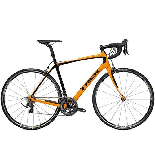 TREK Domane 5.2 Carbon, Rennrad, 2015, orange schwarz, RH 54