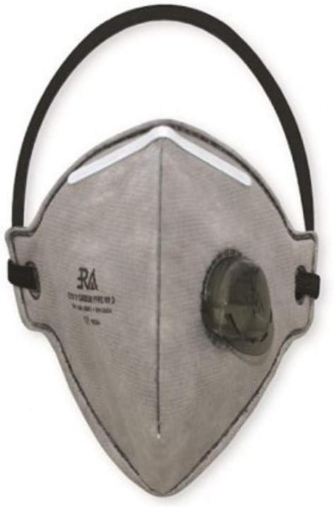 era mascherine ffp2 con valvola - professionali - confezionate singolarmente - certificate ce - 10 pezzi