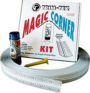 Trim-Tex Magic Corner Kit for Drywall Inside Corners - Eliminates Cracking