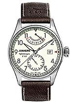 Junkers Herren-Armbanduhr XL Spitzbergen F13 Analog Automatik Leder 61605