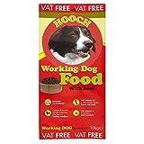 Hooch Working Dog Food with Beef 10kg (Pack of 10kg)