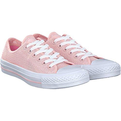adidas Damen Chuck Taylor All Star OX Basketballschuhe, Pink (Vapor Pink Pink Glow-White Vapor Pink Pink Glow-White), 37.5 EU