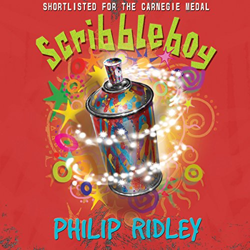 Scribbleboy audiobook cover art