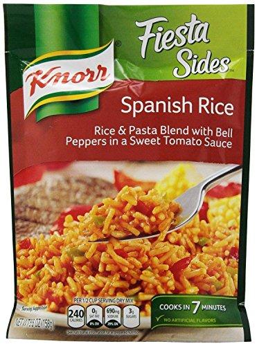 (6 Pack) Knorr Spanish Rice Fiesta Rice Side Dish, 5.6 oz