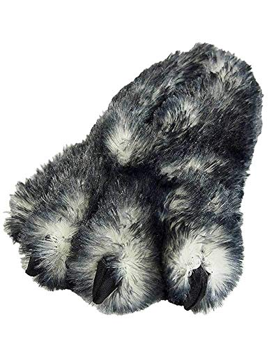 WISHPETS Paw Slipper Shoes (Gray, L)