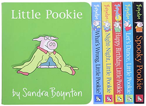 Big Box of Little Pookie: Little Pookie; What's Wrong, Little Pookie?; Night-Night, Little Pookie; Happy Birthday, Little Pookie; Let's Dance, Little Pookie; Spooky Pookie