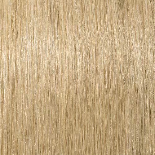 Haarteil Topper Remy Echthaar Clip in Extensions Toupet Haarverlängerung Pony Toupee Frauen mit 3 Clips Hellblond#613 12