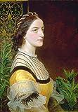 Frederick Sandys Portrait Of A Lady, wahrscheinlich Anne